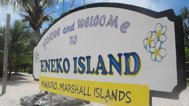 Eneko Island, a 30-minute boat ride from Majuro.