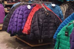 Jackets from Macpac and Kathmandu were a Christchurch shoplifter's favourite item.