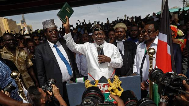 Kenyan police detain opposition politician at airport in scuffle -lawyer