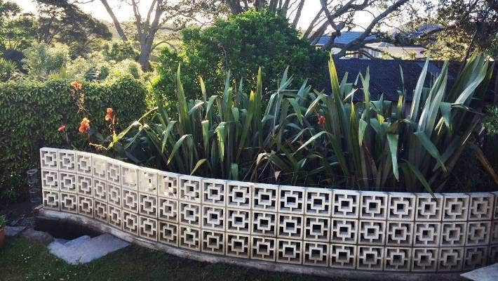 Mid Century Breeze Block, Which Breeze Blocks To Use For Garden Wall