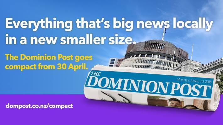 Dominion post advertising