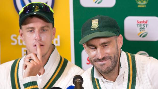 Faf du Plessis empathises a little with disgraced Steve Smith