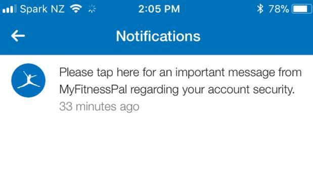 Millions of MyFitnessPal accounts hacked, Under Armour says