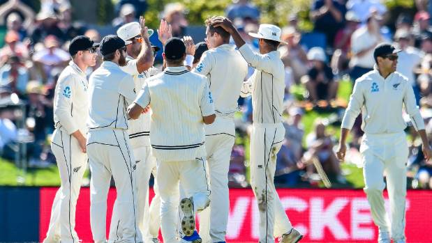 Sodhi survives to guide Kiwis to historic win over England