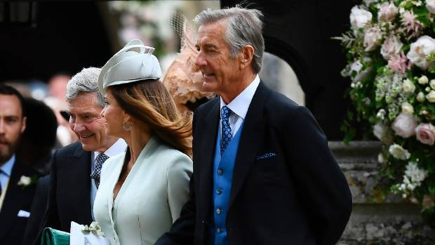 Pippa Middleton's father-in-law has been charged with the rape of a minor