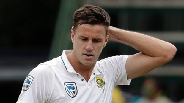 Morkel Picks Up Injury in Farewell Test