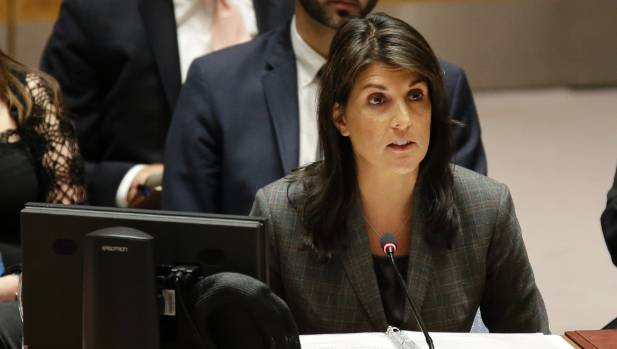 United States Ambassador to the UN Nikki Haley and her Russian counterpart Vassily Nebenzia exchanged barbs at UN