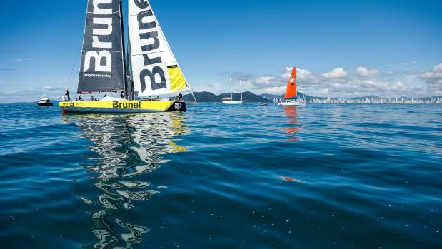 Volvo Ocean Race: Team Brunel claim challenging seventh leg victory