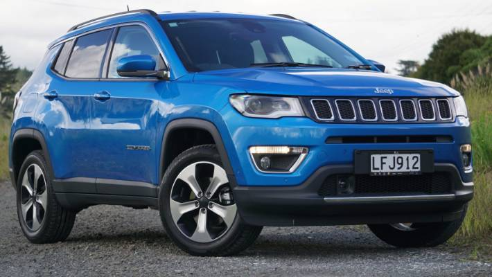Jeep Compass goes slightly off the path already taken