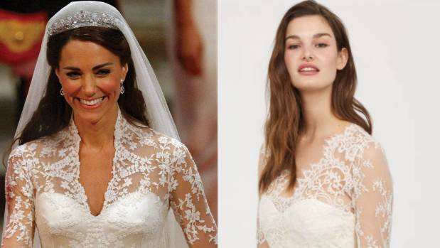 H&M is selling a replica of Kate Middleton\'s wedding dress | Stuff.co.nz