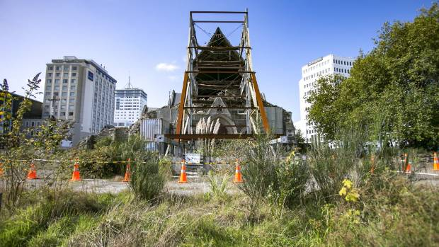 "Christchurch leaders say it is a ""bloody disgrace'' the cathedral has been neglected for so long."
