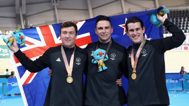 Commonwealth Games: Eddie Dawkins praises teamwork in gold medal race against England