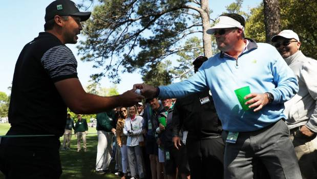 How Sergio Garcia and wife got over Masters debacle