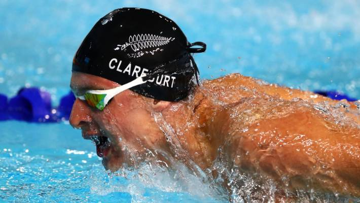 New Zealand Swimmer Lewis Clareburt In The Spotlight At Commonwealth Games