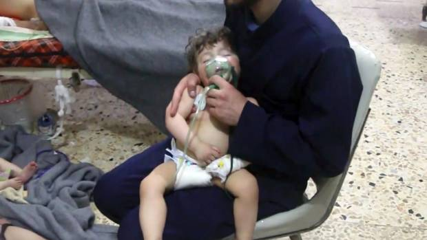 Many killed in suspected gas attack in Syria By