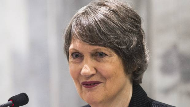 Former prime minister Helen Clark won a lifetime achievement award at the Women of Influence awards in 2017.