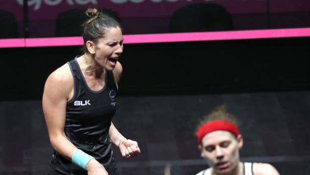 Joelle King won gold in the women's singles squash event on day five on the Gold Coast.