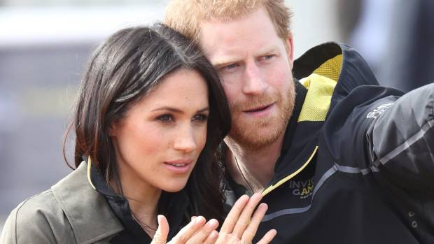 Meghan Markle and Prince Harry Look Spring Chic at Reception for Youth