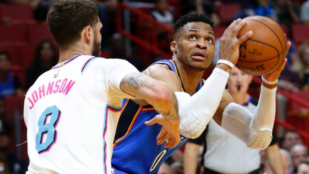 Carmelo Anthony: Russell Westbrook 'Steals' Rebounds from Thunder Teammates