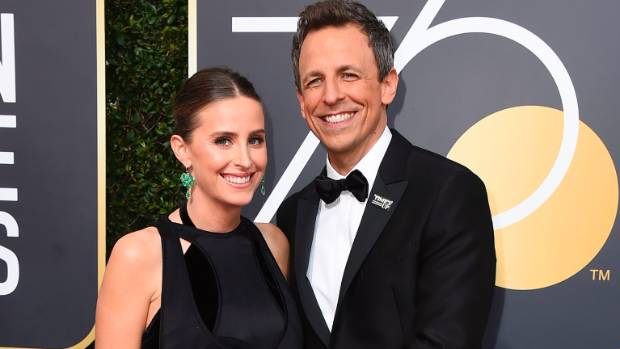 Seth Meyers becomes a father of two