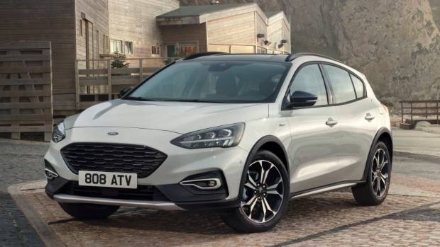 New SUV-style Focus Active model has ride height raised by 30mm. With apologies to Subaru XV.