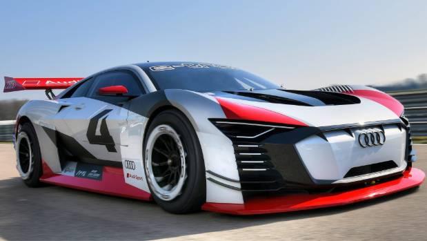 Here's Audi's E-Tron Vision Gran Turismo - as an actual auto