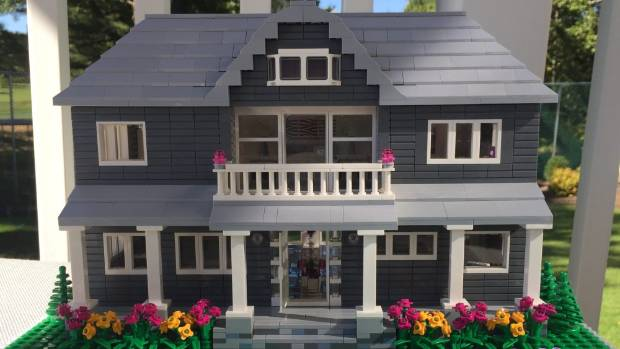 Your house made of Lego