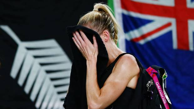 Down but not completely out - Silver Ferns