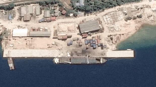 Image result for Vanuatu's Luganville wharf, photos