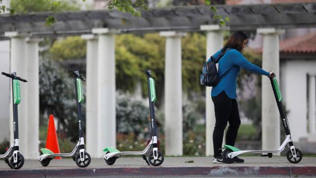 City of Savannah looking to ban dockless scooters