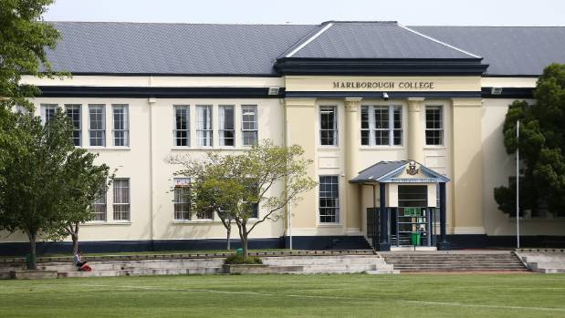 Marlborough College was co-educational until 1962, when it changed its name to Marlborough Boys' College.