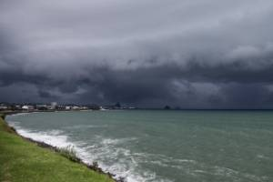 Outlook for the weekend: rain and wind.