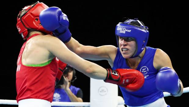 Skye Nicolson wins boxing gold at Games