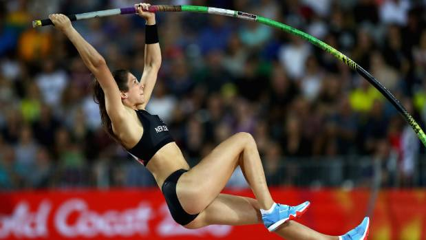 Dame Valerie Adams takes silver in women's shot put at Commonwealth Games