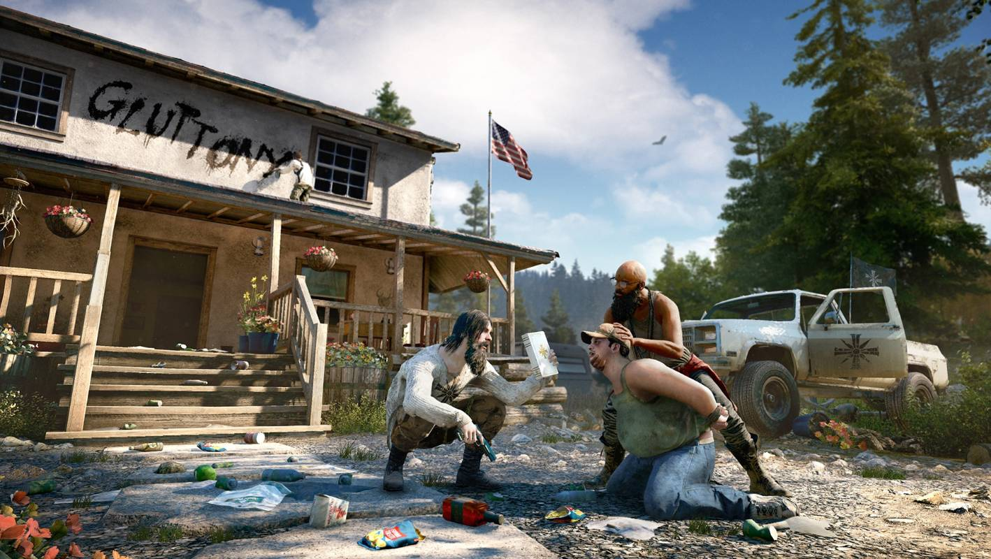 Far Cry 5 Battling Religious Misfits Makes For A Different Type Of Cult Hit Stuff Co Nz