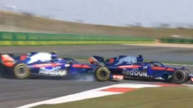 Kiwi F1 driver Brendon Hartley finishes last at Chinese GP
