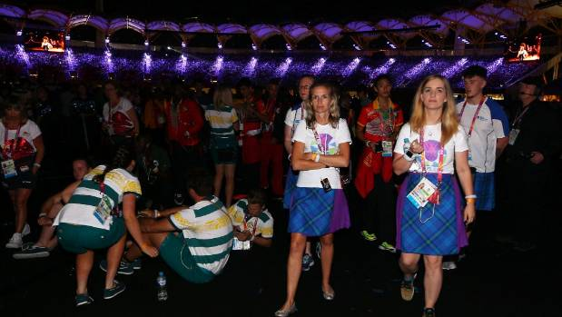 Queensland's Courier-Mail reported that athletes left the ceremony early to hit the bar.