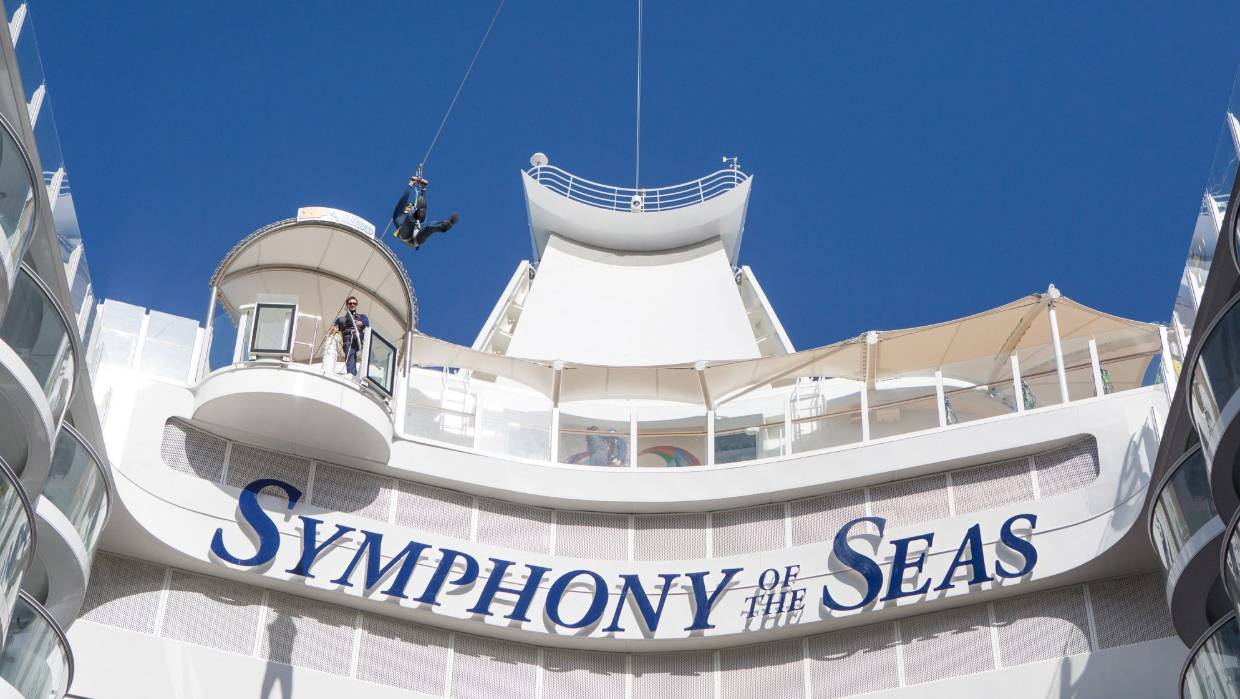 Symphony of the Seas is the world's biggest cruise ship: Is bigger