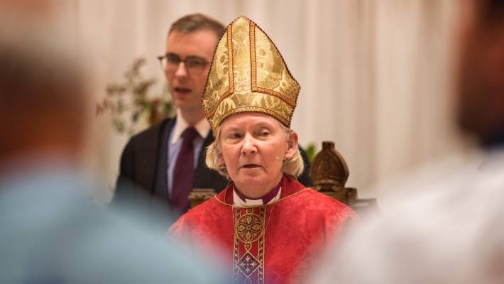 Former Canterbury Anglican bishop Victoria Matthews left the role last year.