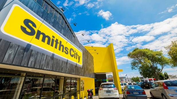 Smiths City's recently refurbished North Shore shop.