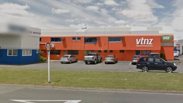 A test officer at the VTNZ in Frankton, Hamilton, made a mistake in failing Michael VTNZ general manager operations Greg ...
