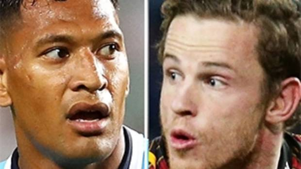 Chiefs halfback Brad Weber says he's disgusted at Israel Folau's comments