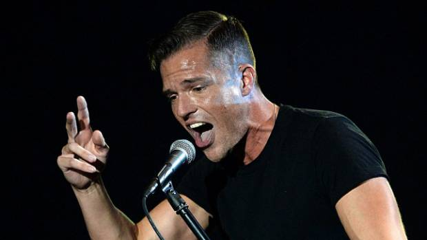the killers thrill large christchurch crowd. Black Bedroom Furniture Sets. Home Design Ideas