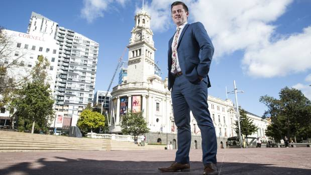 Auckland councillor Richard Hills is an unapologetic cheerleader for the supercity. — Photograph: Chris McKeen.