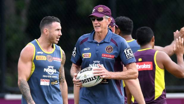 Broncos boss Bennett walks out on press conference amid Bellamy speculation