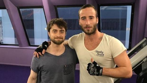 Harry Potter star Daniel Radcliffe's working out in New Zealand for Guns Akimbo