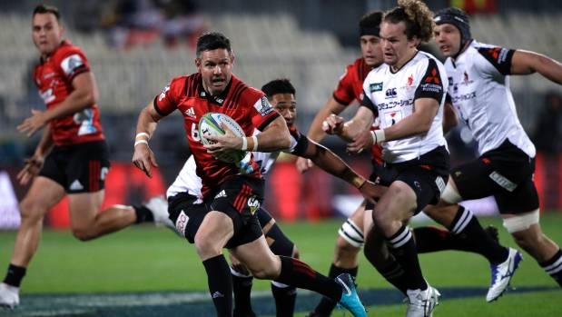 Crusaders too good for Sunwolves in Christchurch