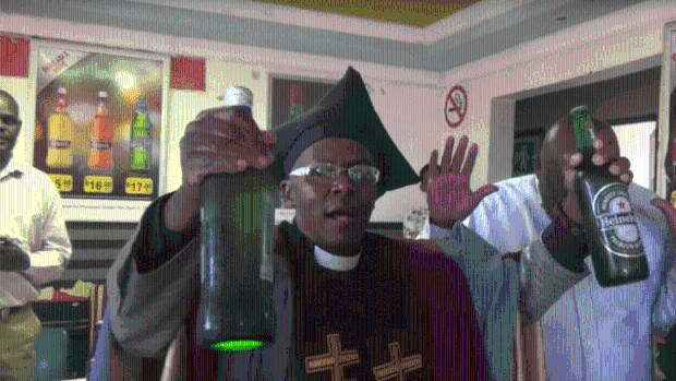 Image result for New South African church celebrates drinking alcohol