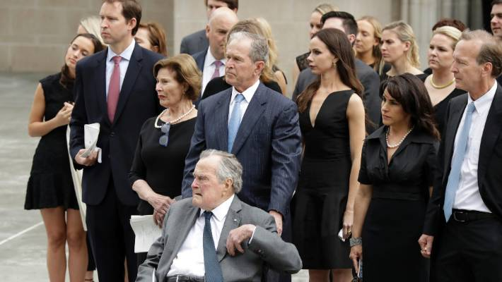Matriarch Of Bush Family Honoured By Friends And Family At Private
