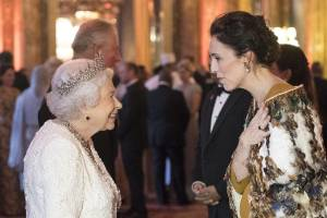 The Queen has congratulated Prime Minister Jacinda Ardern on the birth of her daughter. (file photo)
